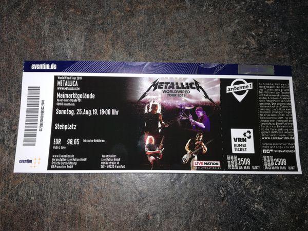 Metallica Mannheim 25 8 19
