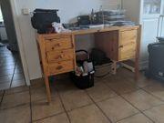 Schreibtisch Holz 30 EUR HBT