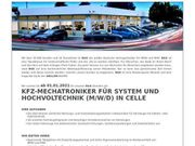 KFZ-Mechatroniker für System und Hochvoltechnik
