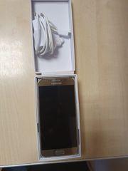 Samsung S6 Handy Gold