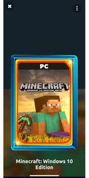 Minecraft Windows 10 Edition fürs
