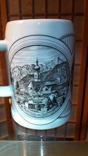 Neuschwanstein Murnau Linderhof Bierkrug Bierseidel