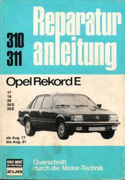 Opel Rekord E - Reparaturanleitung Opel