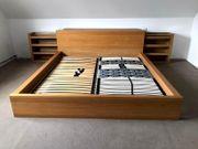 Rarität Modernes Doppelbett versenkbaren Nachtschränken