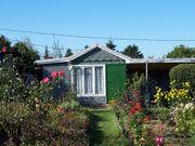 Gepflegter Kleingarten mit Aussicht