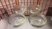 4 Stck Schale Glasschale kostenloser