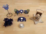 Kerzenständer Kerzenhalter Teelichthalter Adventskranz Sternleuchte