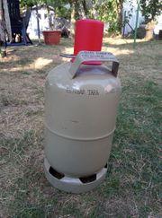 Gas-Flasche 5 kg grau ungefüllt
