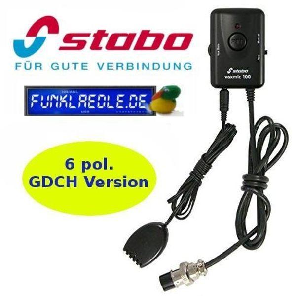 Stabo CB-Freisprechmikrofon VOXMIC 100 GDCH