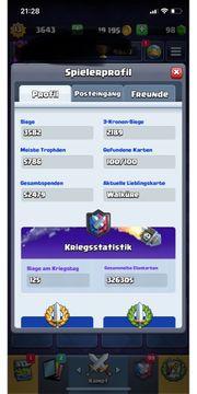 Clash Royale Account lvl 13