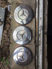 Mercedes Benz Oldtimer Radkappen Crome