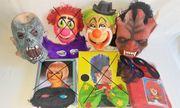 Faschingskostüme - Masken - Perücken Frauen - Männer -