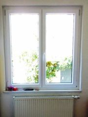 Kunststofffenster 2 fl Dreh- Kipp