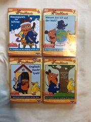 4 DVDs Sendung Maus
