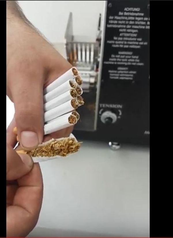 Zigarettenstopfmaschine Top-o-matic