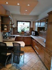 U-Küche Eiche rustikal