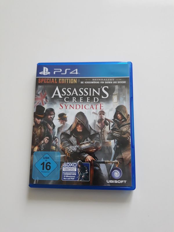 Assasyns creed syndicate PS4