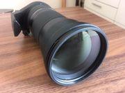 Objektiv Tamron-SP 150-600-mm-F 5-6-3 SP-Di-VC-USD
