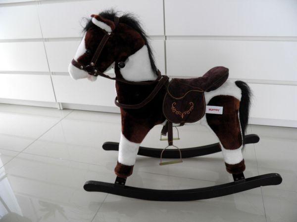Schaukel-Pferd mit Stimme Schaukel Pferd