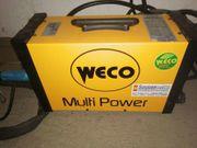 WECO Multipower 204T WIG-Schweißgerät