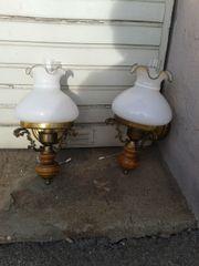 2 HISTORISCHE LAMPEN