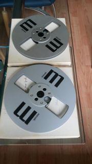 2 Maxell Metallspule 18cm