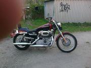 Verkaufe originale Sitzbank für Harley