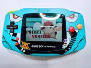 Nintendo Gameboy Advance Pokemon Edition