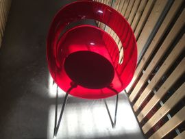 Designerstühle 4 Stück, Retro