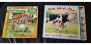 2 Bauernhof Kinderbücher Puzzle