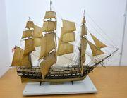 Hobby-Aufgabe Modellschiff USS Constitution Modellbau