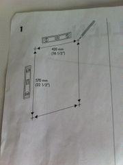Spiegel Fullen Ikea intakt