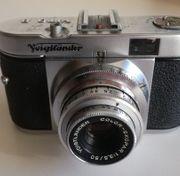 Fotoapparat Voigtländer VITO B aus