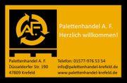 An und Verkauf von Europaletten