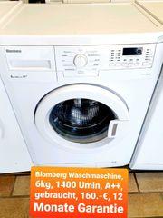 Blomberg Waschmaschine 6kg 1400 Umin