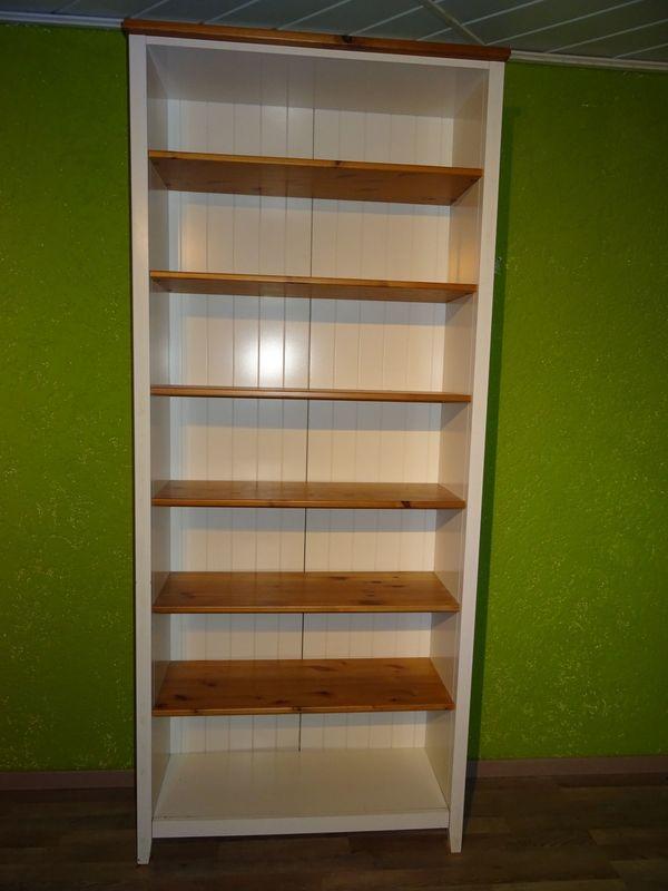 Bücherregal IKEA Hemnes weiss braun