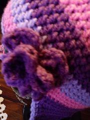 Damen Mädchen Mütze mit Ohrenklapen