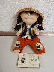 Sammlerstück Puppe aus China Rice