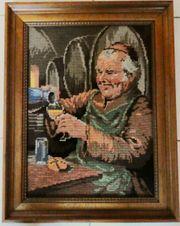 Gobelin-Stickbild Der Kellermeister