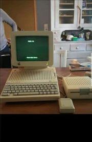 Oldtimer Apple Computer