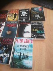 Thriller Bücher alle zusammen