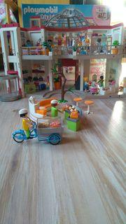 Playmobil Shopping Center mit Erweiterung