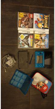 Nintendo 3ds mit Spielen komplett