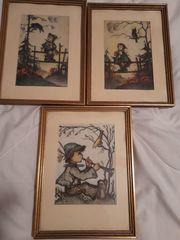 3 Hummelbilder 15 5 x
