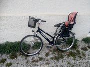 28 Damenrad Rad mit Kindersitz