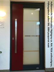 Aluminium-Haustür Ausstellungsstück Nr 10