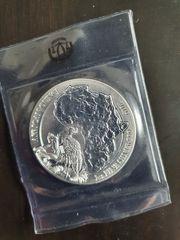 Silbermünze 1 oz Ruanda Schuhschnabel