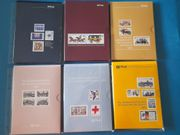 6 Jahrbücher BRD Bund 1984-1989