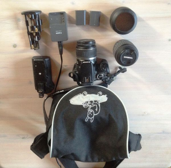Canon EOS 400 D mit