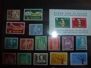 Sammlung postfrischer schweizer Briefmarken inkl